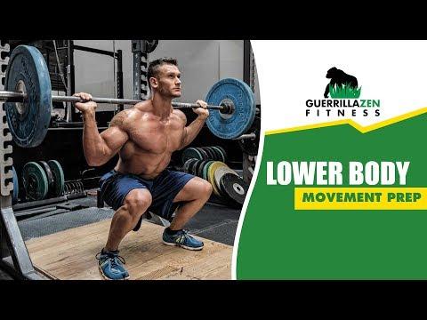 Lower Body Movement Prep Routine