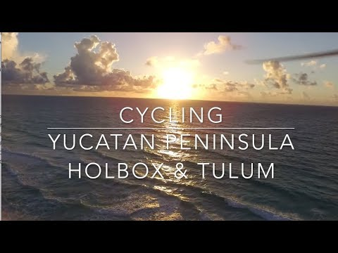 Travel 15 day Cycling Mexico's Yucatán peninsula Holbox, Merida and Tulum