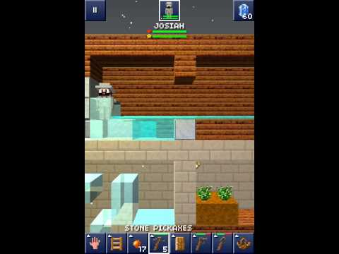 The Blockheads IOS:Water physiscs!