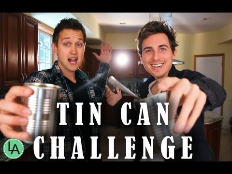 TIN CAN CHALLENGE WITH LUKE CONARD