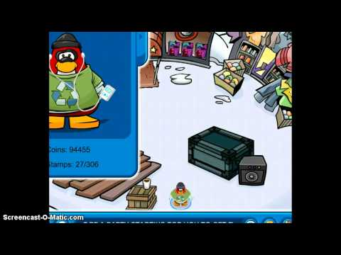 Club penguin : Construction Stamp