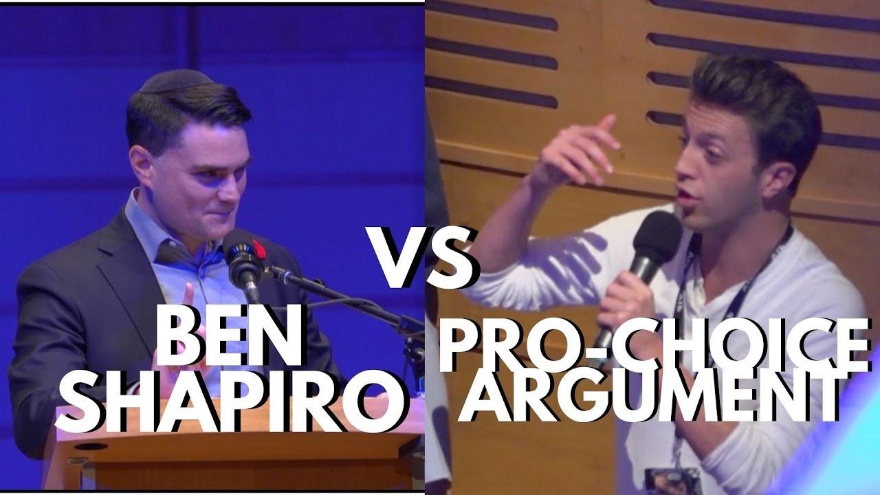 Ben Shapiro SHREDS Pro-Choice Argument | UBCFSC Talk