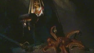 Pirates of the Caribbean changes in ride context at Disneyland