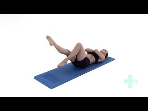 Muscle weakness - abdominal cycling exercise core strength