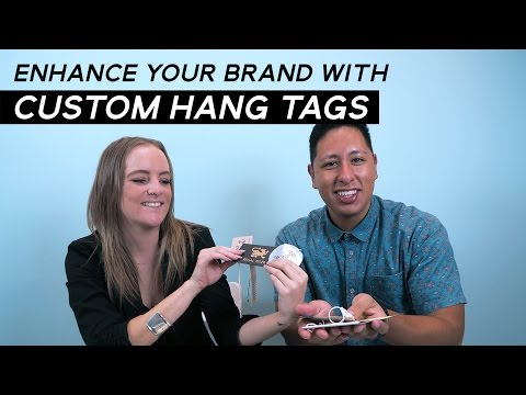 Custom Hang Tags For Clothing | Types Of Hang Tags For Your Clothing Line