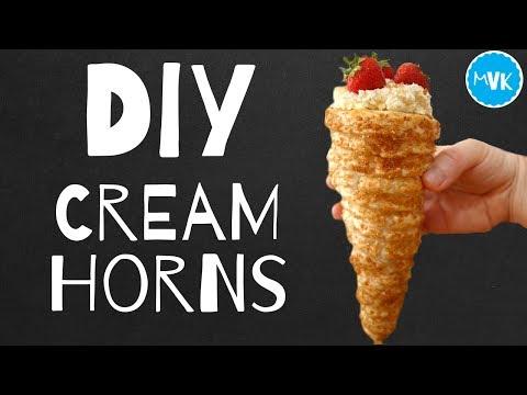 DIY CREAM HORN RECIPE