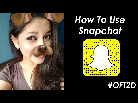 How To Use SNAPCHAT 👻 for BEGINNERS in Hindi #OFT2D