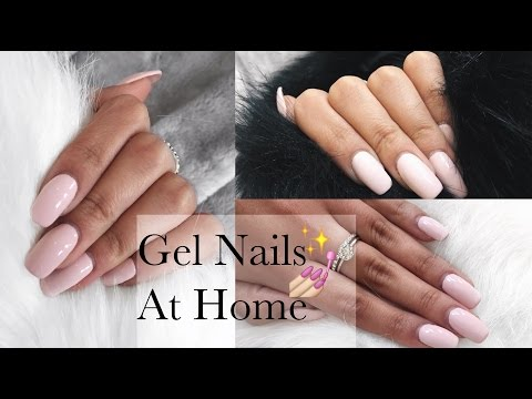 GEL NAILS AT HOME (Tutorial)  ft Madam Glam