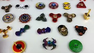 TOP BEST SUPER HERO FIDGET SPINNERS- WHICH IS YOUR FAVORITE??