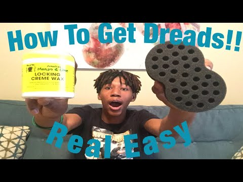 How To: Start Dreads With Sponge