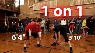 The Professor called out by a Chicago Baller 1 on 1
