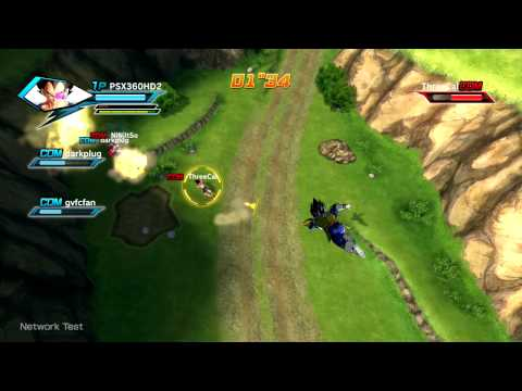 [60fps] Dragon Ball: Xenoverse - Vegeta Online Beta Gameplay (PS3)