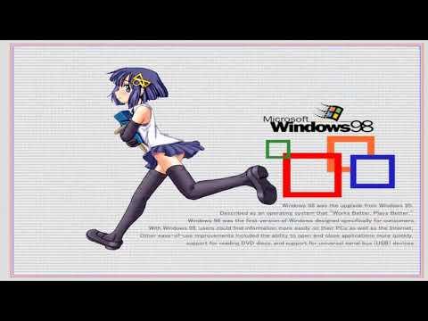 Windows 98 First Edition Crazy Error!
