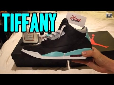 DIY Jordan 3 'Tiffany' Custom Tutorial