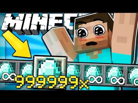 If You Could Stack UNLIMITED Items - Minecraft