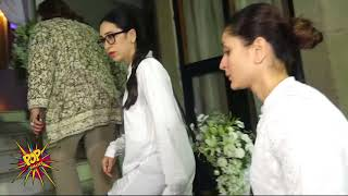 Emotional Kareena Kapoor Khan With Sister Karisma Kapoor At Rani Mukerji