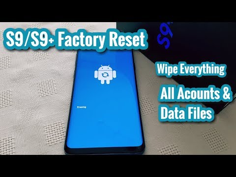 Samsung Galaxy S9/S9+ Factory Reset|Wipe Device Clean