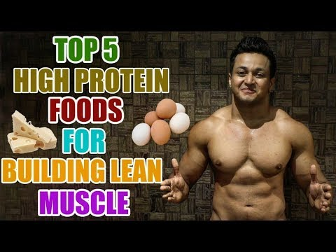 Top 5 High Protein Foods for Building Lean Muscle Fast in HINDI by Vishal R Panchal