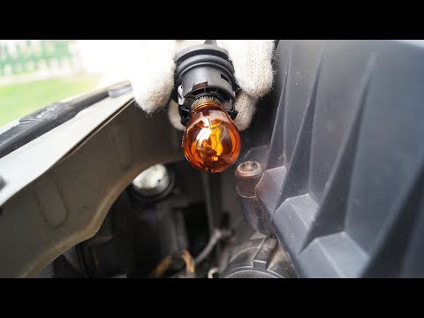 Opel Corsa - Front Right Turn Signal Light Replacement