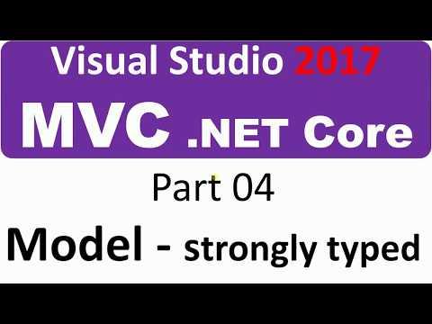 Visual Studio 2017 - MVC Core - Part 04 - The Model