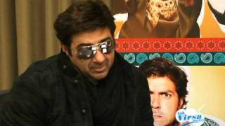 Jagraj Singh Joga with Sunny Deol (Interview for Yamla Pagla Dewana)