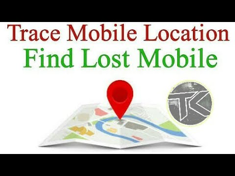 How to find lost mobile phone location  with the help of find my device  Android app I Track  phone