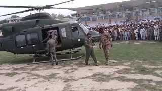 Pakistan air force helicopter takeoff by faisal
