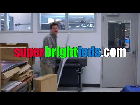 How It's Made: Custom Printed LED Light Box Panels