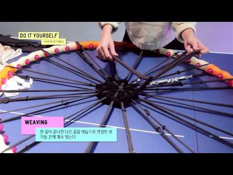 VITT - DIY today - Make a T-Shirt Rug Using a Hula Hoop