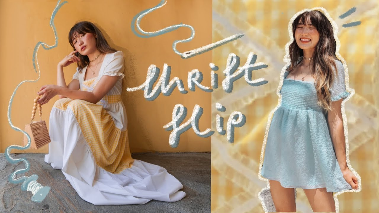 THRIFT FLIP // turning ugly clothes into cute clothes