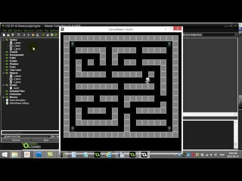 GPC 12-01-A (GameMaker Grid Movement)