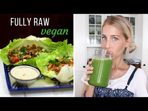 What I Ate Today ❀ FULLY RAW VEGAN