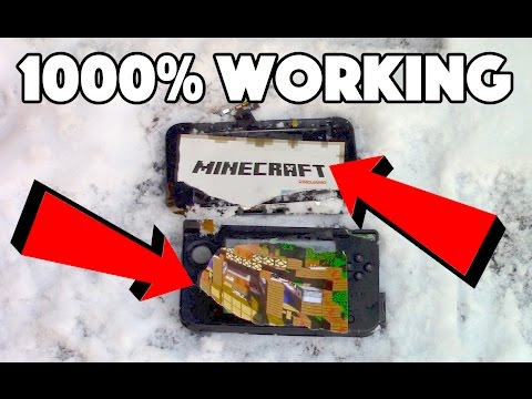HOW TO GET MINECRAFT FOR 3DS