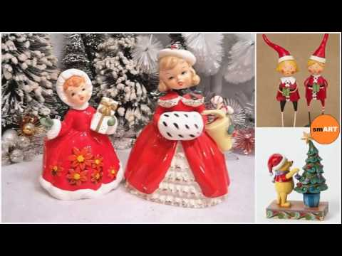 Christmas Figurines - Victorian Christmas