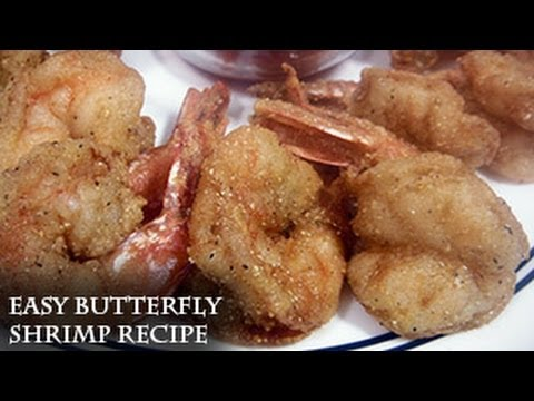 Easy Butterfly Shrimp by request