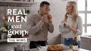 Download John Legend and Gwyneth Paltrow | Real Men Eat goop: The Wing | goop Video