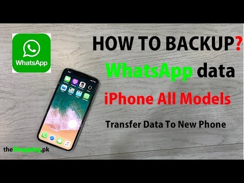 How to Backup WhatsApp Data Of iPhone All Models? | WhatsApp Data Transfer to New Phone