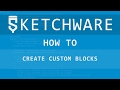 How to use custom blocks - Sketchware(Android) tutorial