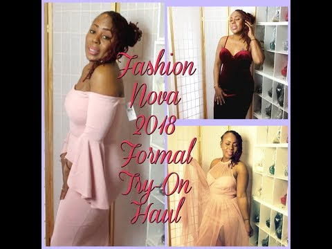 Fashion Nova 2018 Spring FORMAL / WEDDING ATTIRE Budget Friendly Try- On Haul
