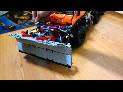 Lego Technic 8110 Unimog Snowplow