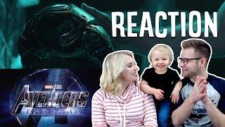 Download AVENGERS ENDGAME TRAILER REACTION!!!!!!!!!!!!!!!!!!!!!!! Video