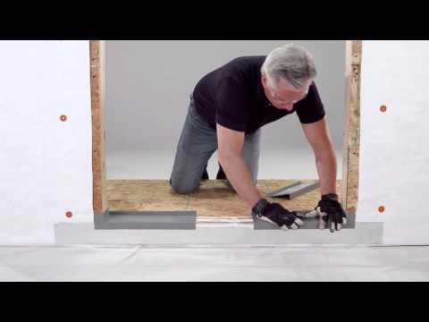 Brickmould Door Flashing Install