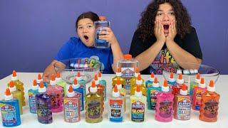 Don't Choose the Wrong Elmer's Glue Slime Challenge