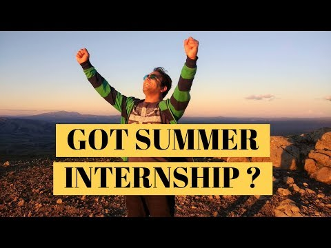 How to Get Summer/Spring Internship During MS in US | Practical Tips