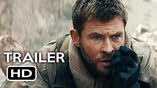 12 Strong Official Trailer #2 (2018) Chris Hemsworth, Michael Shannon War Drama Movie HD