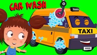 Taxi Car Wash | Cartoon Videos And Songs For Toddlers by Kids Channel