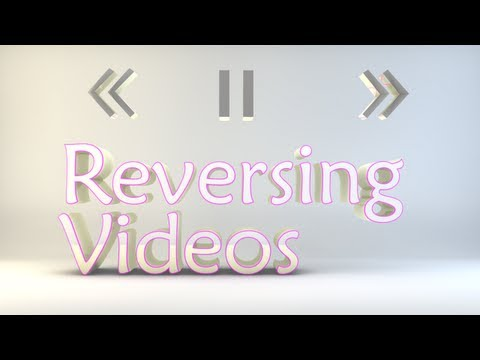 How To Reverse A Video In After Effects CS6