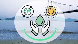 Floating Seawater Desalination using Solar Energy