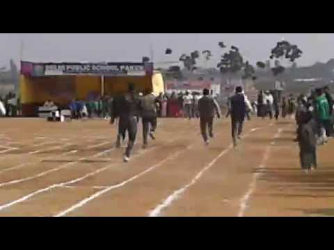 Race of parents in dps annual sports