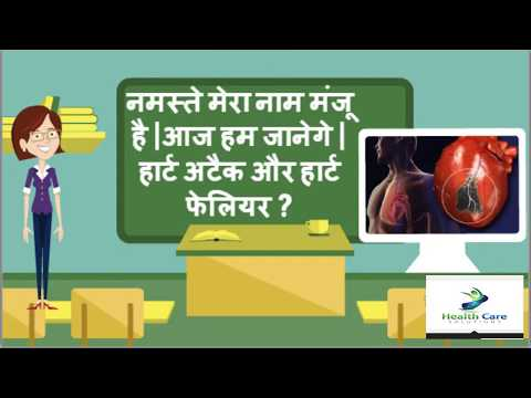 Heart attack & Heart failure symptoms in hindi- Health Tips HIndi